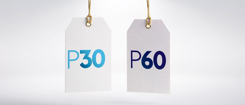 La P30 et la P60